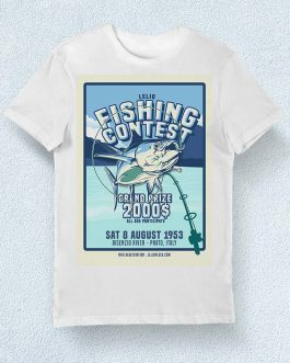 T-Shirt Lelio Fishing Contest