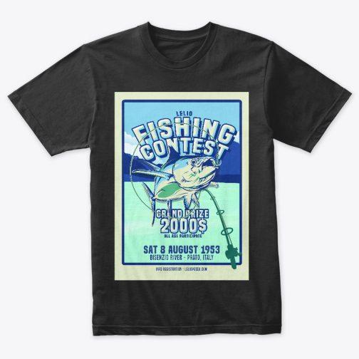 t-shirt pesca